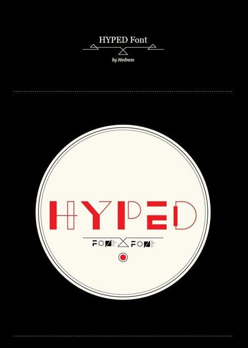 Hyped Font