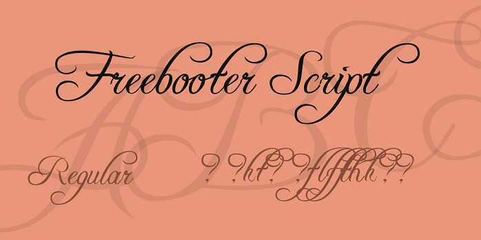 Freebooter font