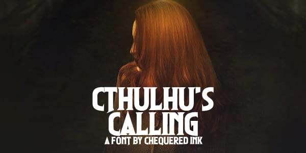 Cthulhus Calling Font