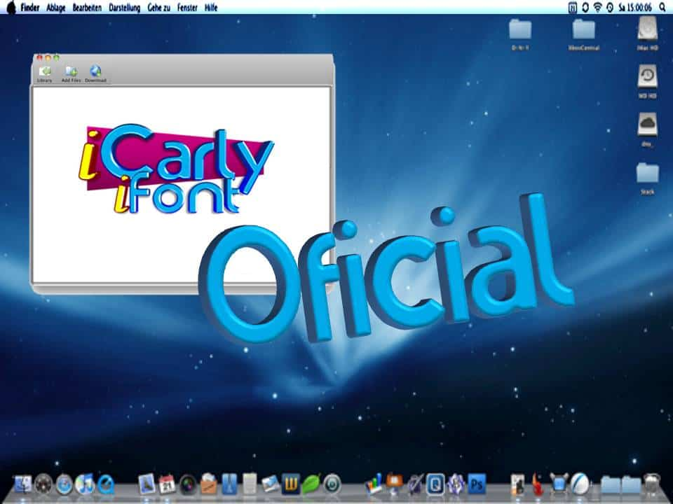 Icarly Font
