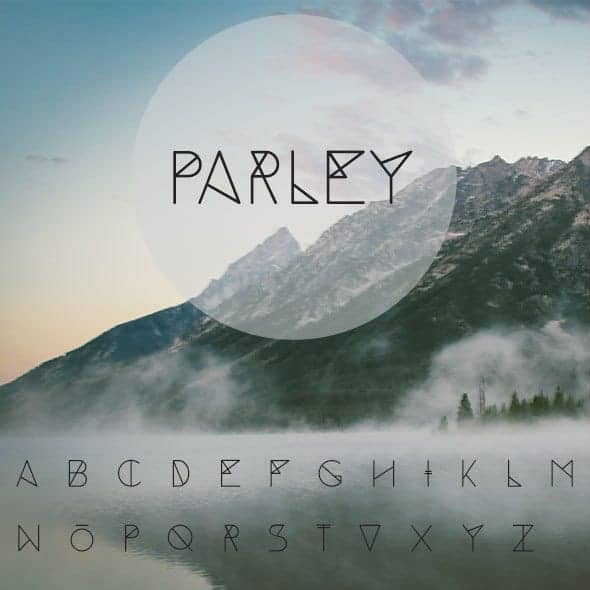 Parley Typeface Font
