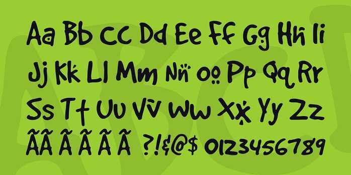 DOGS font