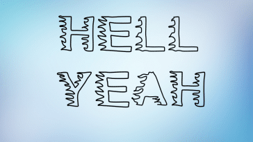 Hell Yeah Font