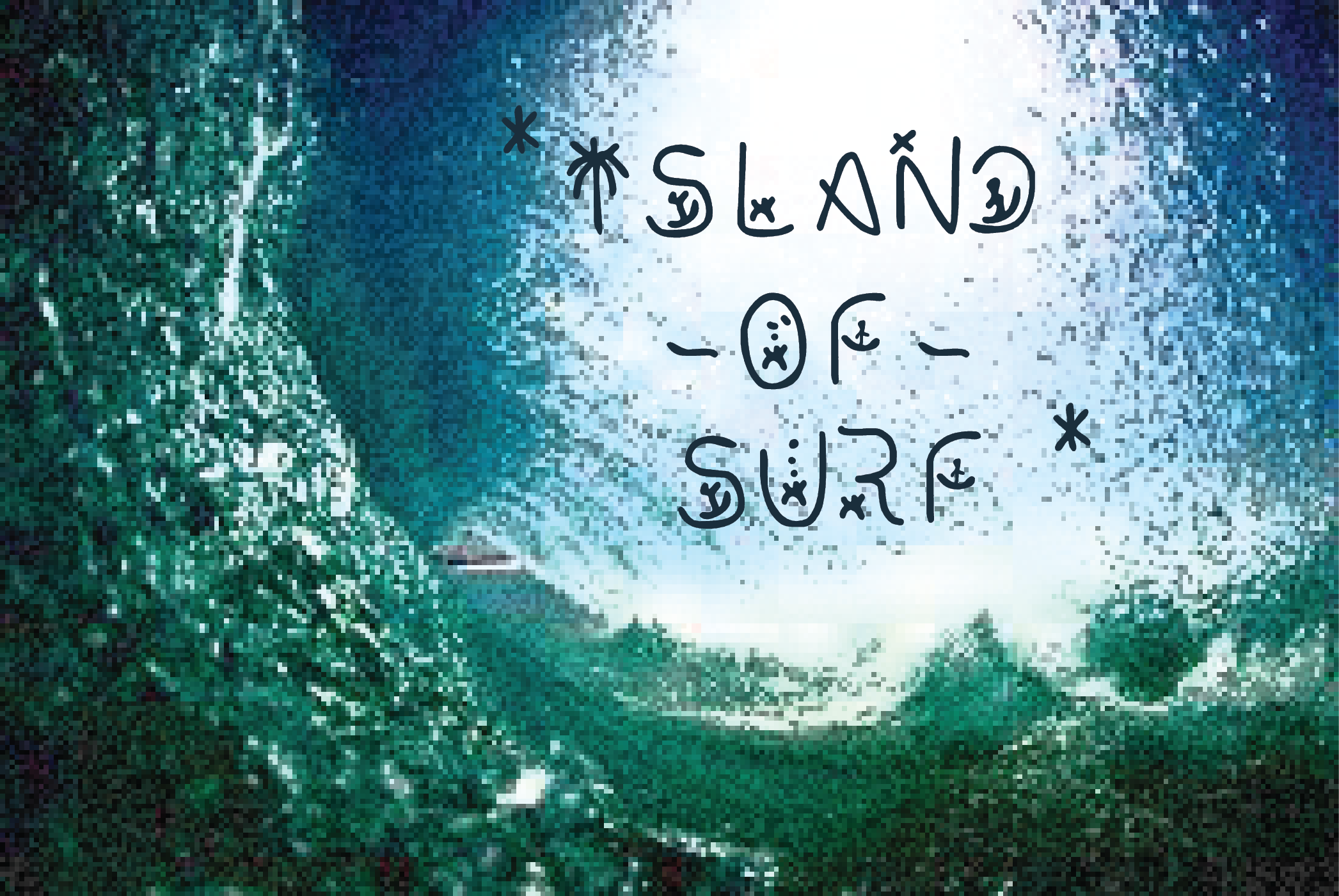 Surfing Of Waves Font