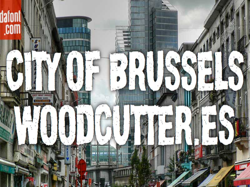 City Of Brussels Font