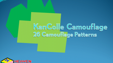 Kantai Collection Camouflage Font