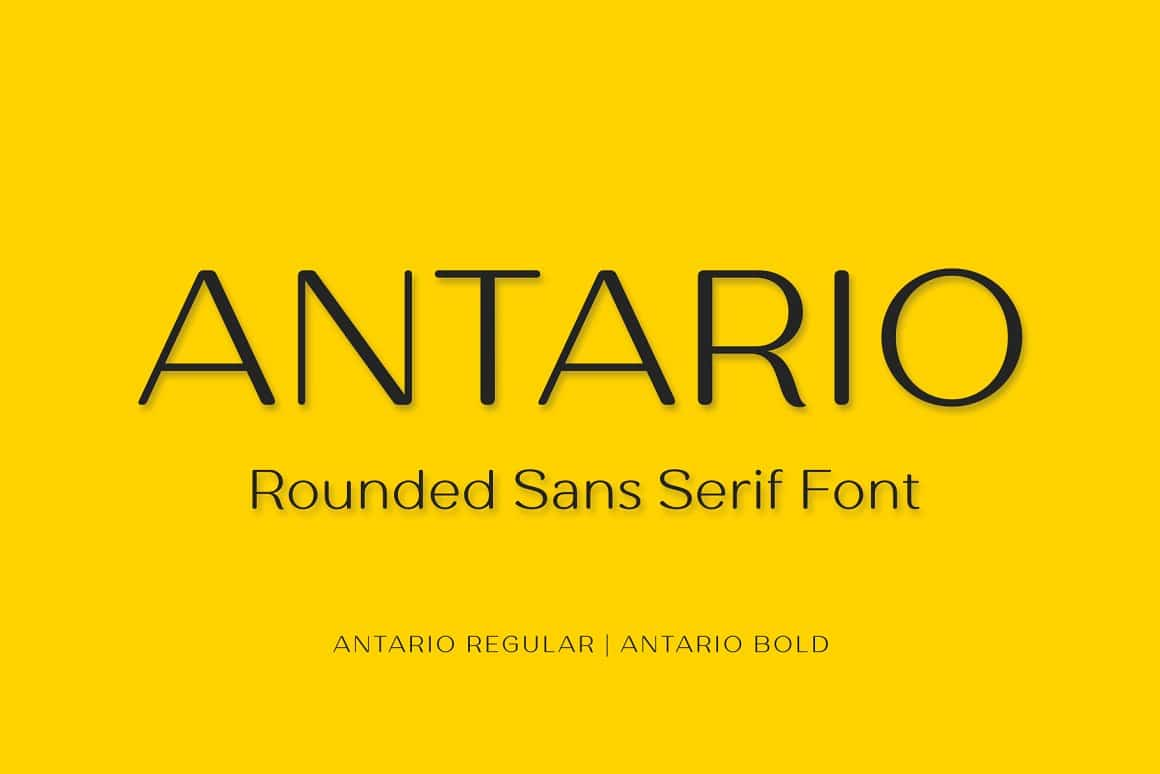 Antario Rounded Sans Font