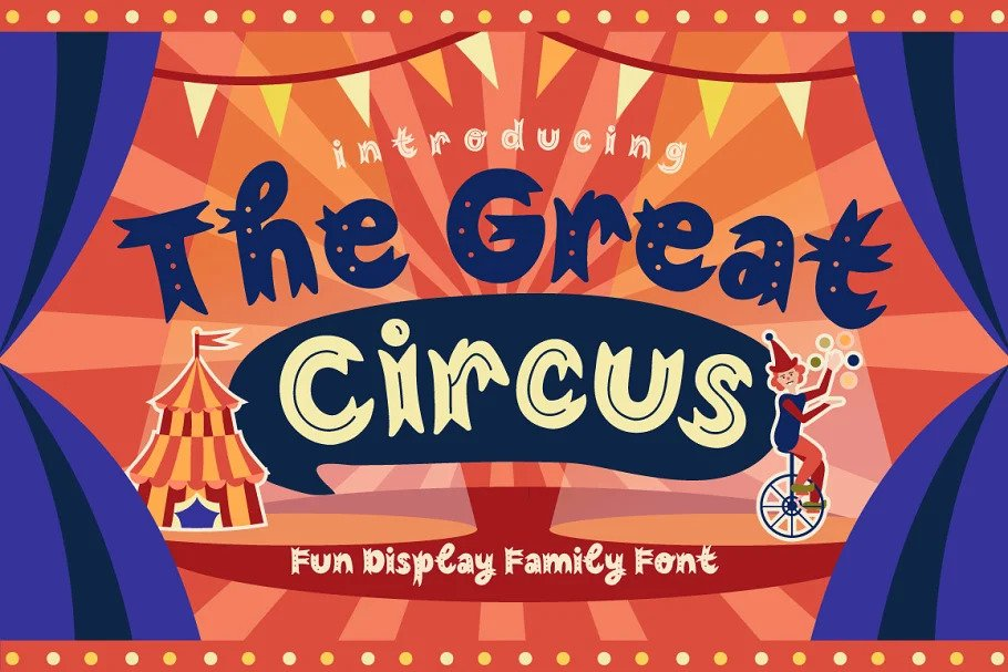 The Great Circus Font