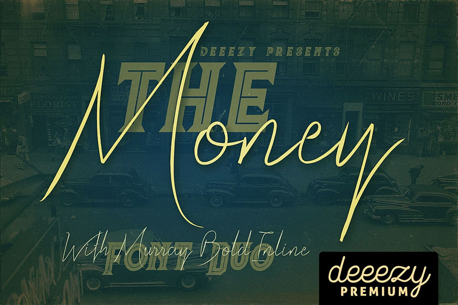 The Money Font Duo