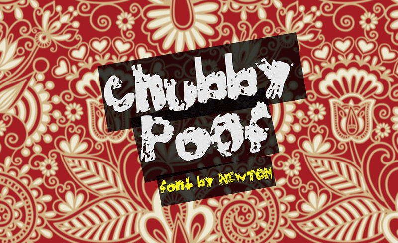 Chubby Poof Font 1