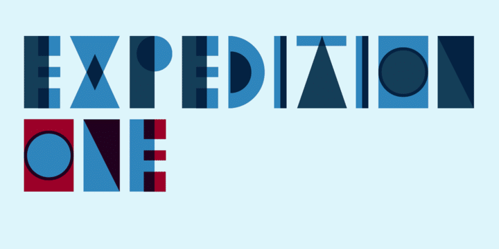 Expedition One Font 1