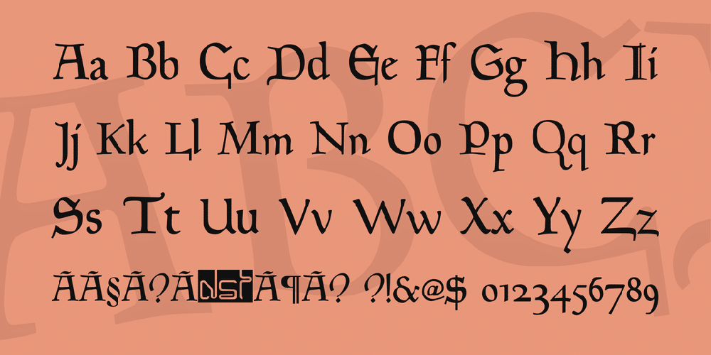 Goudy Font Family 2