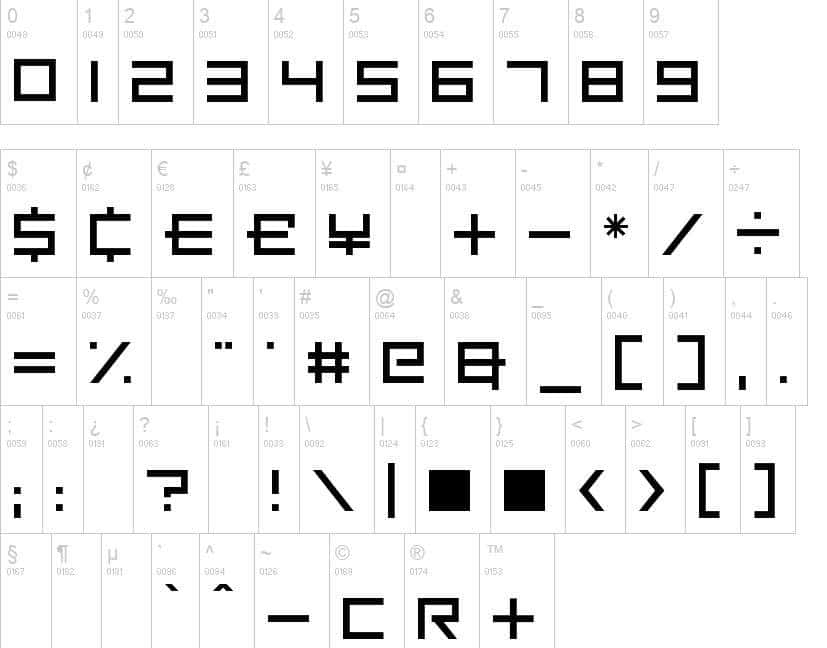 Square-One-Font-21