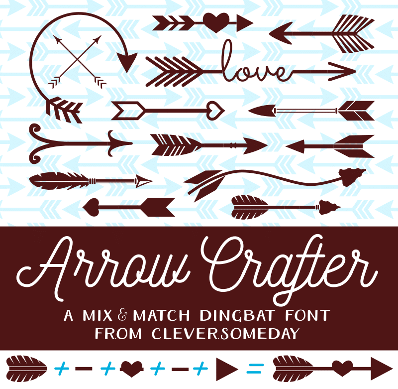 Arrow Crafter Font