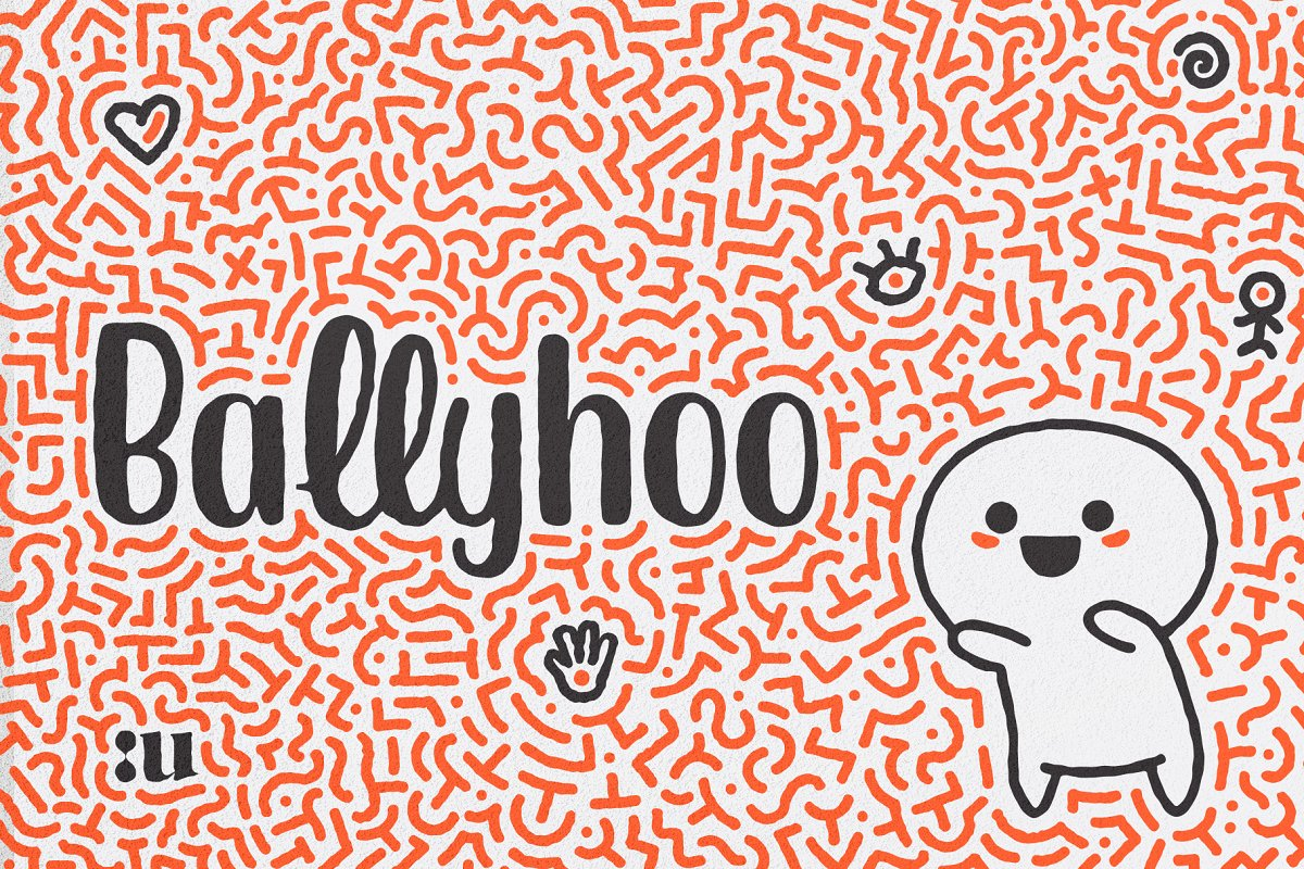 Ballyhoo Display Font