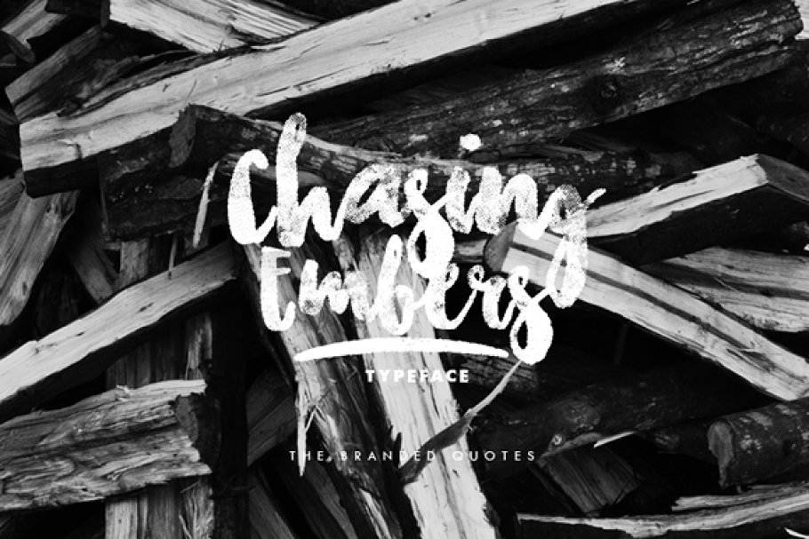 Chasing Embers Typeface