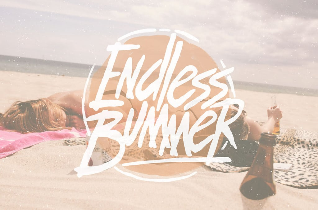 Endless Bummer Hand Drawn Font