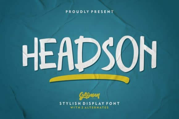 Headson Display Font