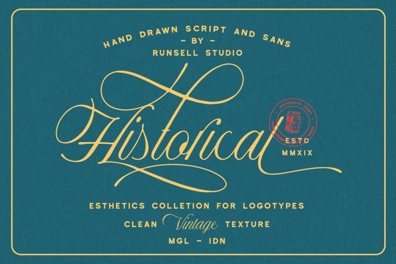 Historical Font Duo