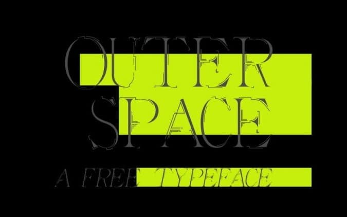 Outer Space Typeface