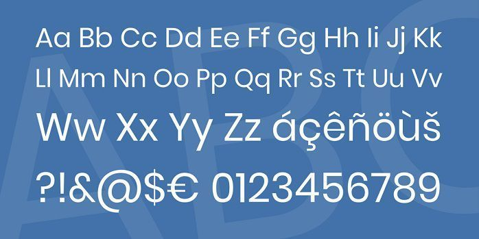 Poppins Font Family