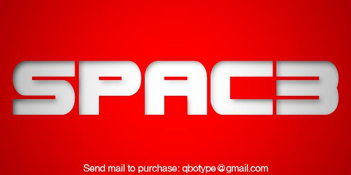 Spac Neon Font