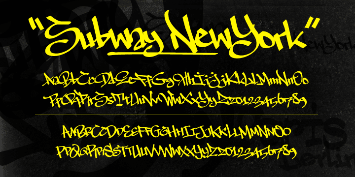 The Subway Types Font Family
